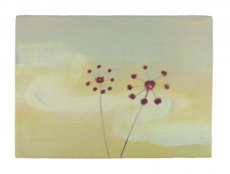 Happiness Encaustiek op houtpaneel 30 x 42 cm