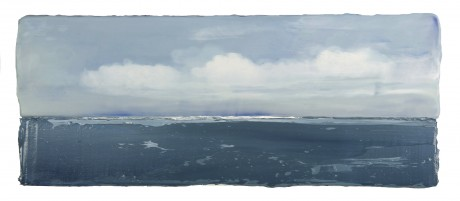 Wolken aan Zee  20 x 48 x 7 cm