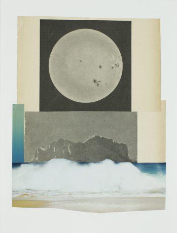 Full Moon Tide 2016  33 x 25 cm