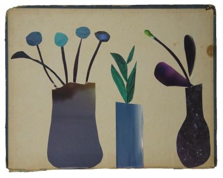 Drie Vaasjes 2013  23 x 29,5 cm. -  collection Triodos Bank