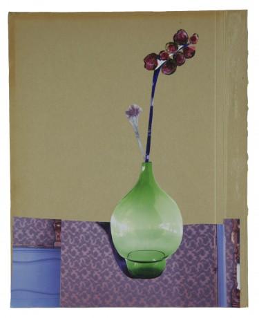 Groene Vaas 2014  26 x 21 cm