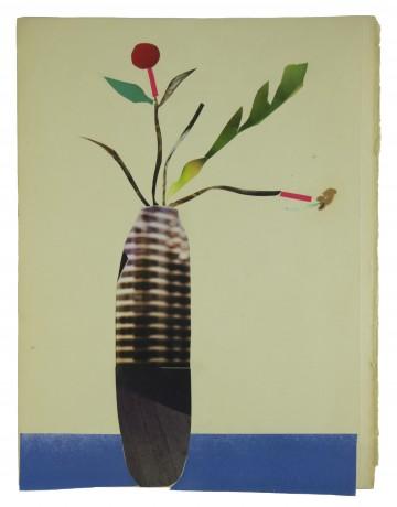 Malevich Flowers 2014  30,5 x 31,5 cm