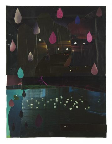 Nighttime waters 2013  33 x 25 cm  -  private collection