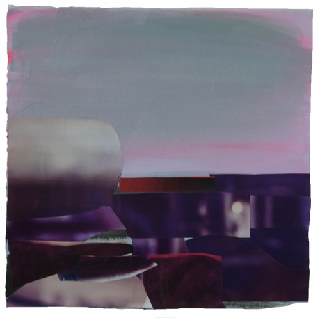 Zonsondergang aan Zee 2012   28 x 29 cm. -  collection Triodos Bank