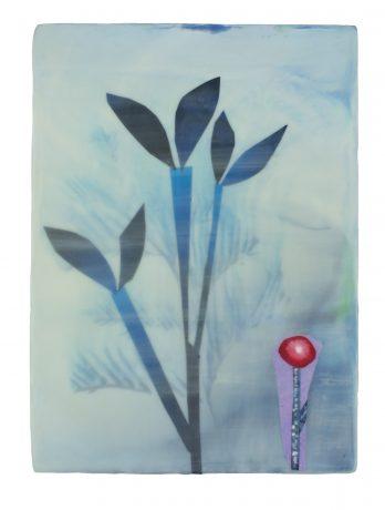Botanic Memory 22 x 16 cm encaustiek op hout