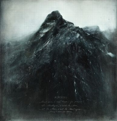 Thierry de Cordier 'Alpensee (Zeeberg)' 2011