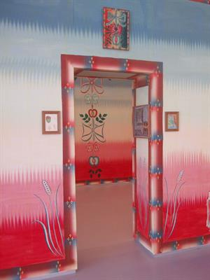 Gijs Frieling, Vernacular painting 2009 ( muurschildering Cobramuseum Amstelveen)