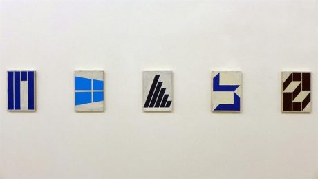 Alain Biltereyst, exhibition view van der Mieden gallery Antwerp