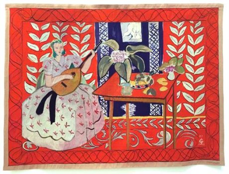 Matisse, Gobelin naar schilderij, Stedelijk museum Amsterdam