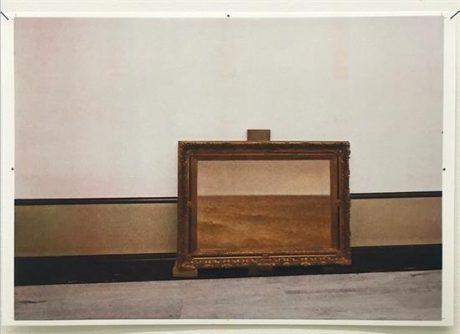 Miek Zwamborn, schilderij G.B. Tholen voor lambrisering Gemeentemuseum Den Haag