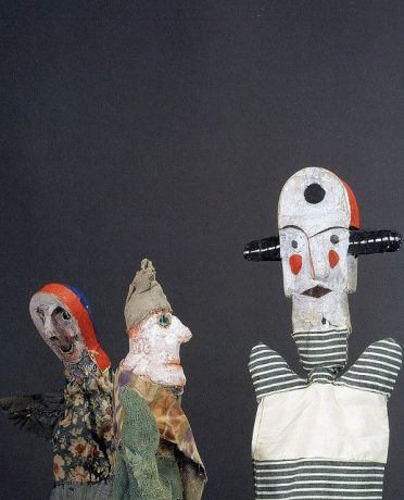 Paul Klee 'handpuppets'