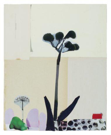 Anke Roder - Schermbloem collage, cover tijdschrift Speling