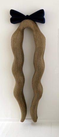 alice in wonderland polystyrene plaster flax flock 190x55x25cm collectie DELA Eindhoven