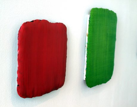 Sander Reijgers red & green courtesy Galerie Helder