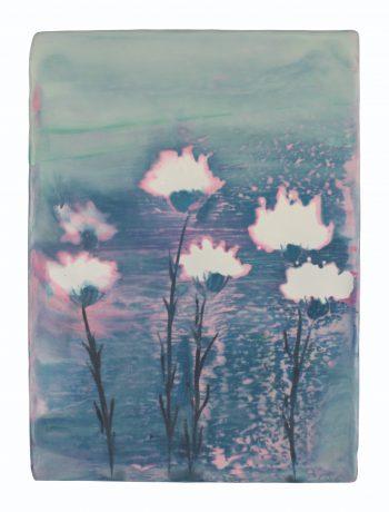De Tuin 22 x 16 x 4 cm encaustiek op hout - courtesy Galerie de Vis Harlingen
