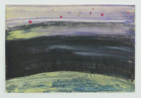 De Ruimte 2008 gemengde techniek op papier 20 x 28 cm - collectie Triodos Bank