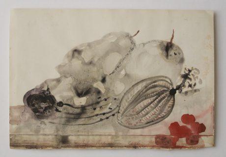 Stilleven 2008 inkt en aquarel op papier 19,5 x 28 cm