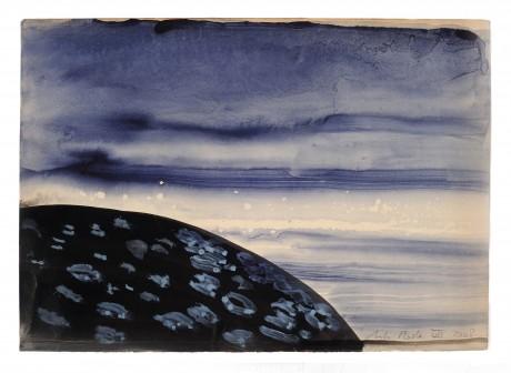 Aarde 2008  20 x 28 cm  gemengde techniek op papier