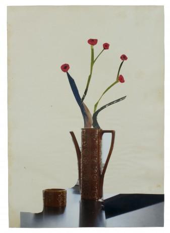 Bloemen in Kan 2015  28,5 x 20 cm
