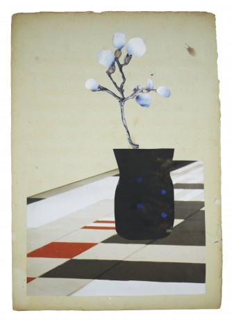 Delaunay Flowers 2014   35 x 27 cm