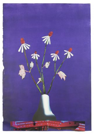 Flowers in a Vase 2017   59 x 41 cm