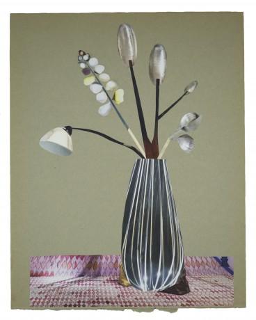Futuristic Flowers 2014  29 x 23 cm