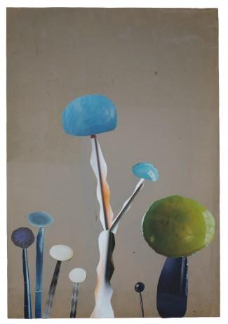 Mushrooms 2014 29,5 x 20,5 cm