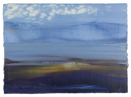 Wolken voor de Kust 26 x 36 cm