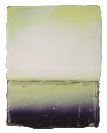 Licht 2014 encaustiek en olieverf op eikenhout 18,5 x 14,5 cm