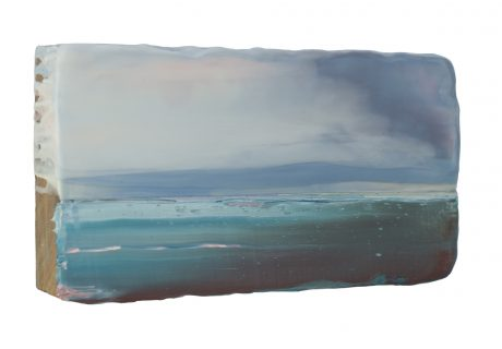 Noordzee / Ocean sideview 15 x 27 x 6 cm  -  private collection