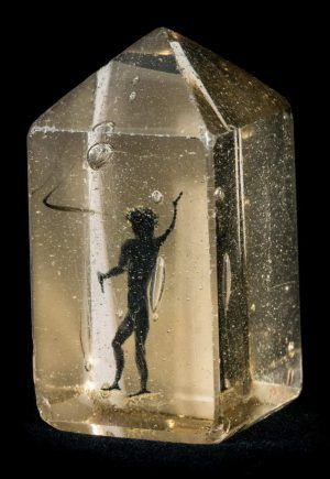 Der Teufel im Glas, Duits 17e eeuws, collectie Kunsthistorisches Museum Wien